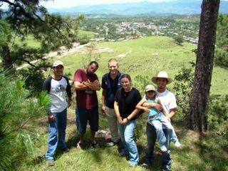 Overlooking Santiago