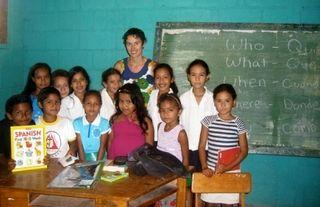 Amanda & Students