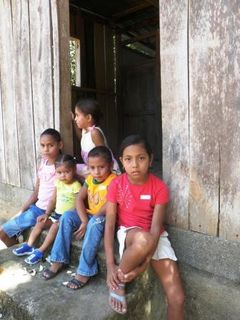 Kids from Nueva Suyapa
