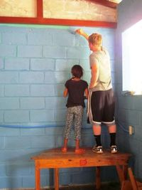 Painting at the Elementary School