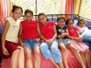 Ruby, Roxana, Areli, Jenny, Grisel, & Abi