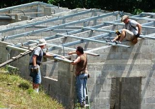 Roofing the Volunteer House