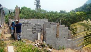 Duplex Walls Going Up