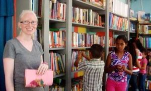 Leah Our Librarian