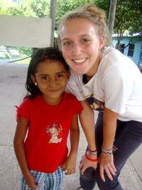 Kaitlen and a Village Girl